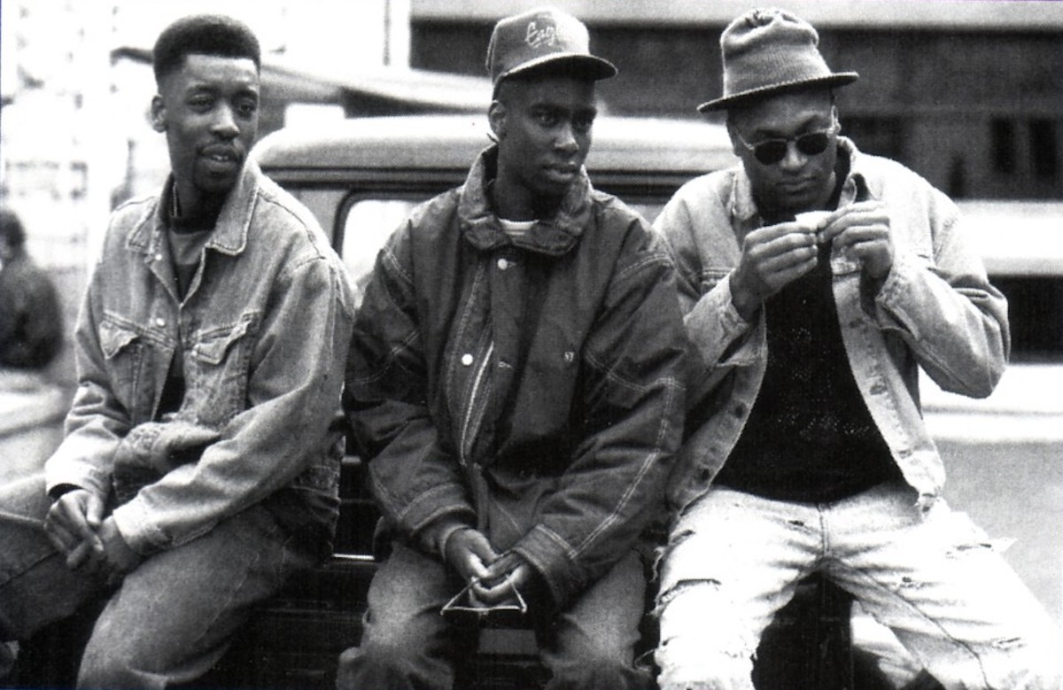 "HERITAGE: Pioneering Nottingham Rappers 3:6 Philly Perform ""Grave Digger"" For Channel 4's 'Naked City' (1993)"