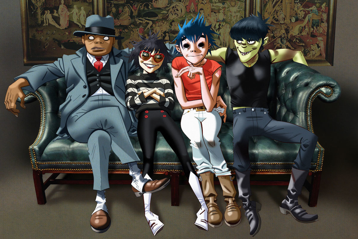 "Gorillaz Share New Space-Age Version Of DRAM-Assisted ""Andromeda"""