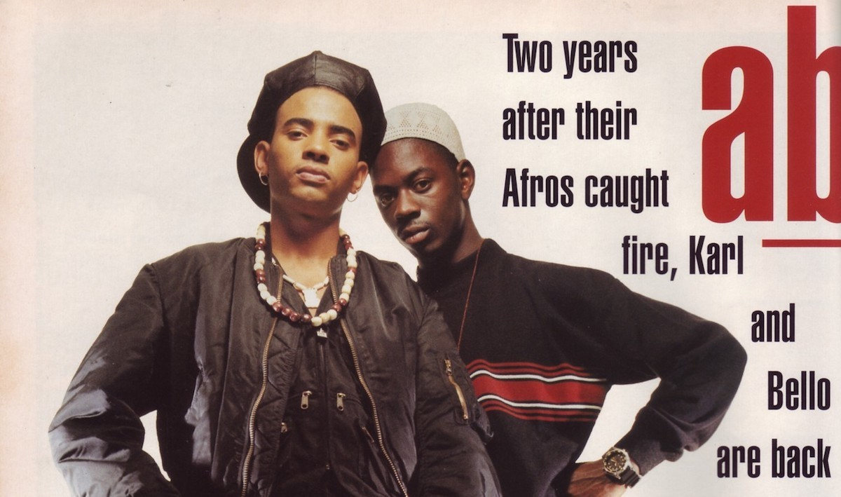 "HERITAGE: Seminal London Rap Duo Outlaw Posse Perform ""II Dam Funky"" Live On Channel 4's 'Dancedaze' (1990)"