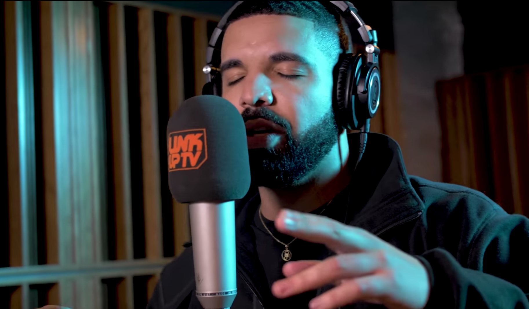 Watch Drake Rip Apart A UK Drill Beat For Link Up TV