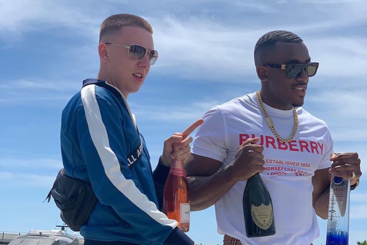 "Fellow Mancunians Bugzy Malone And Aitch Are Moving ""Kilos"" And Going On The Run"