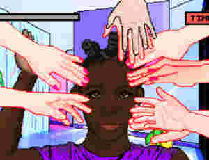 Don't Touch My Hair: Art Director Launches Anti-Hair Touching Video Game