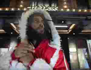 "Durrty Goodz Becomes Rasta Claus In Festive ""Bar Code 7"""