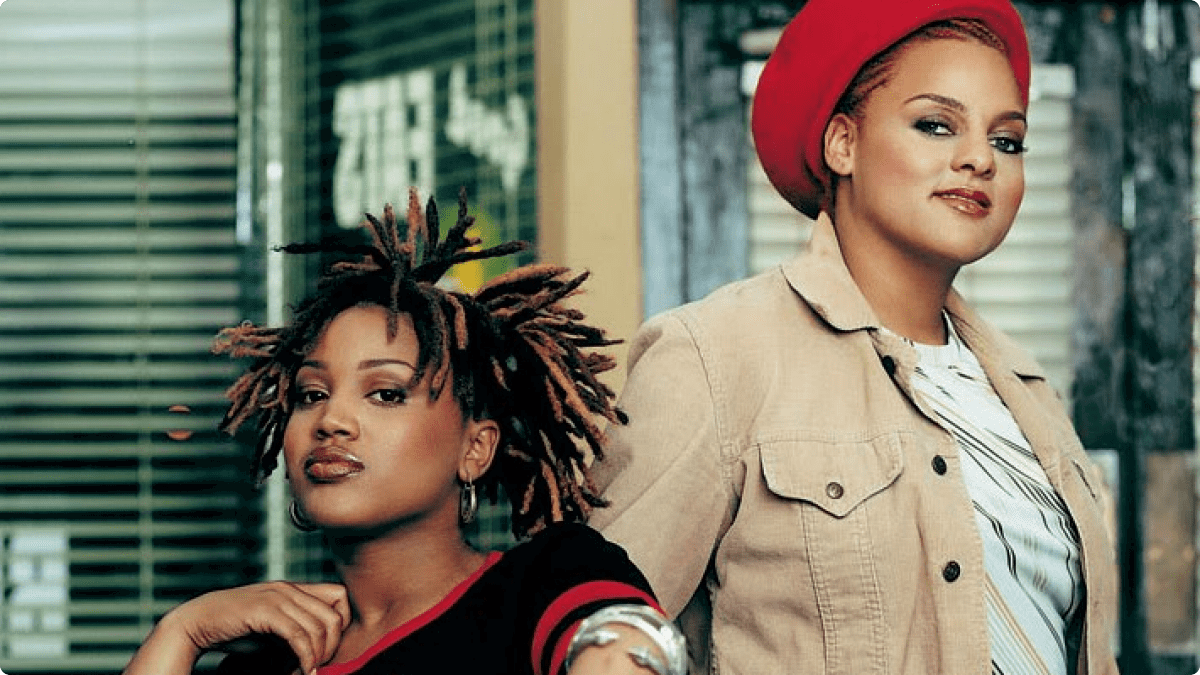"HERITAGE: Seminal R&B Duo Floetry Perform ""Floetic"" Live At The House Of Blues, New Orleans 2003"