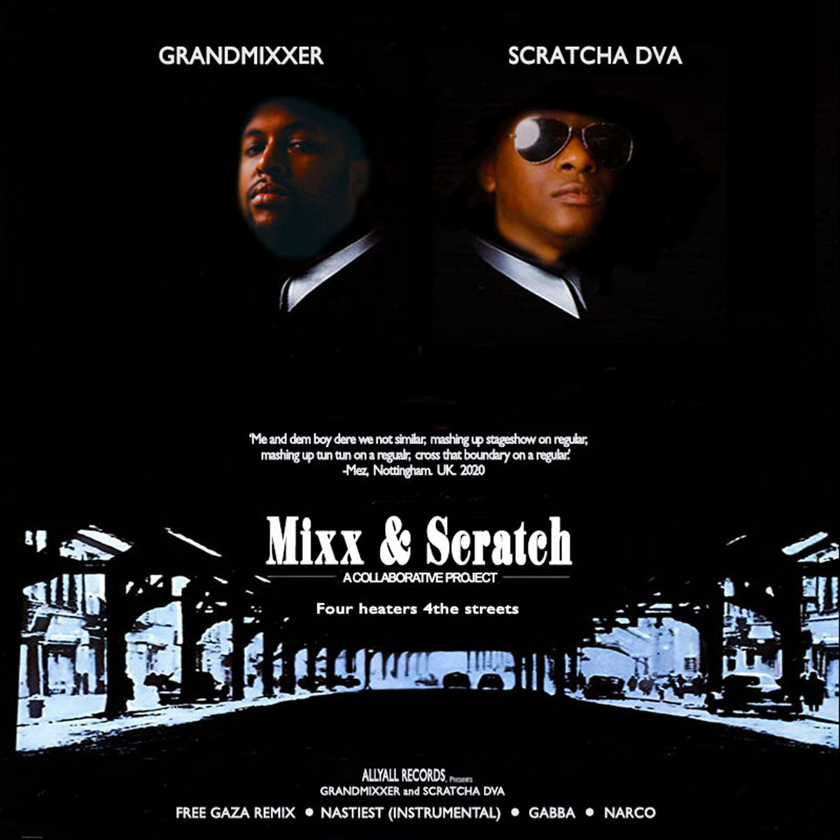 Scratcha DVA And Grandmixxer Combine For Genre-Crossing Tour De Force 'Mixx & Scratch'