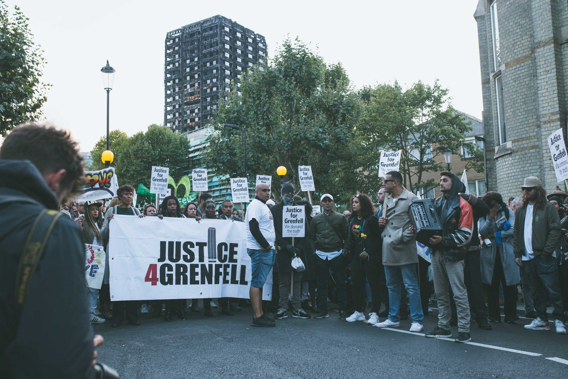 Justice4Grenfell Campaigners Urge Government To Commit To Recladding Deadline