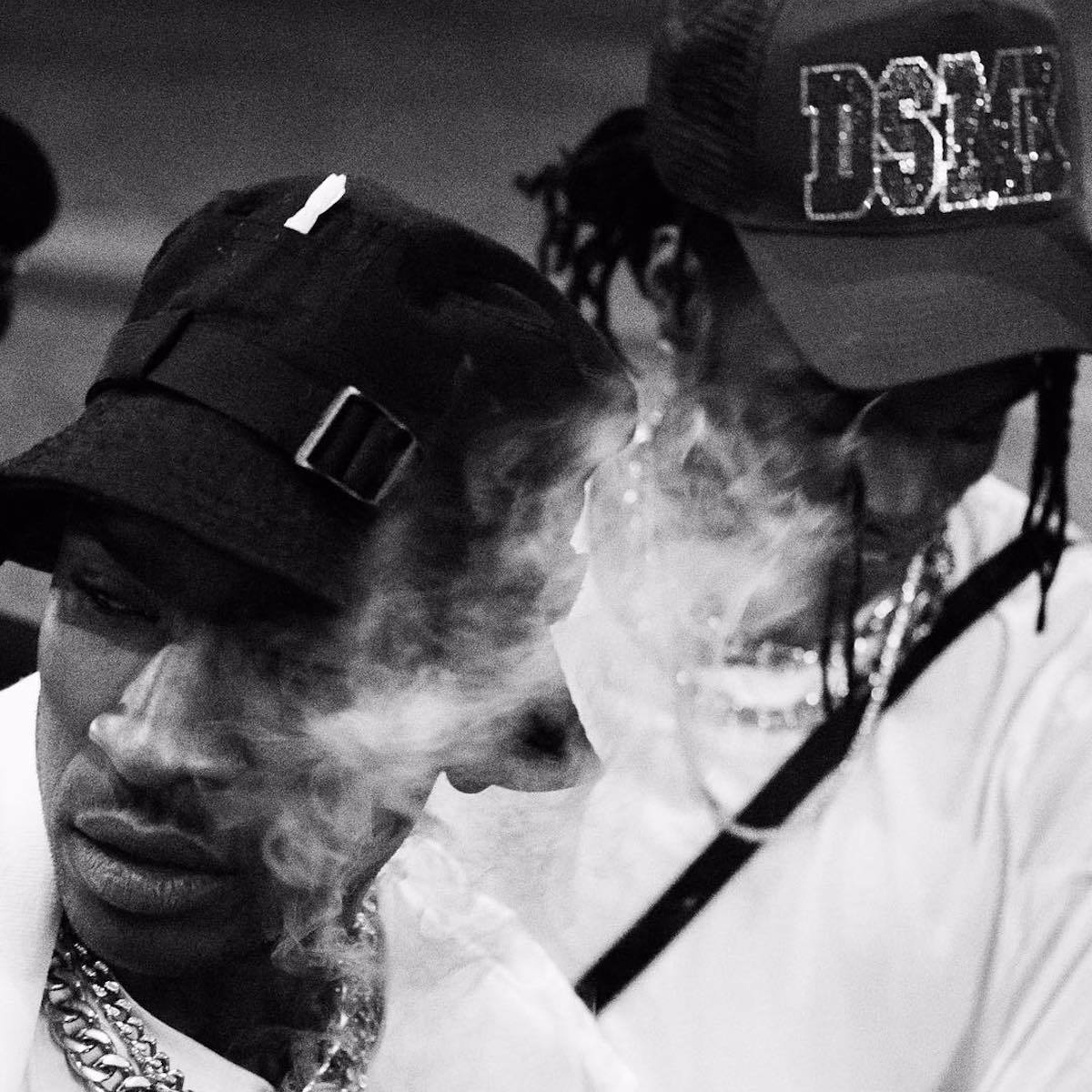 """Lancey Fouxx Releases Trippy Visuals For """"DYED 2WICE"""" Alongside Skepta"""
