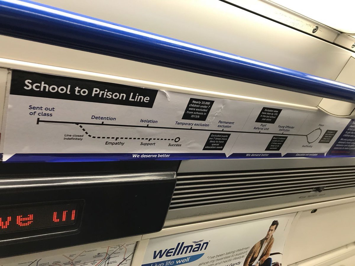 These Stickers On The Northern Line Are A Reminder Of Why Some Of Britain's Youth Feel Hopeless