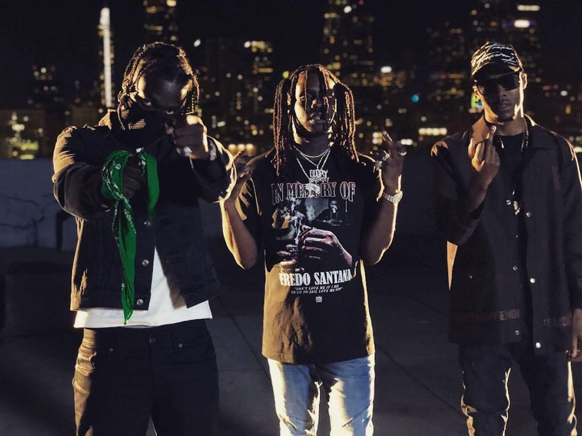 "Skengdo X AM Link Up With The Original Driller Chief Keef For ""Pitbulls"""
