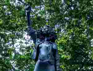 Statue Of Black Lives Matter Protestor Jen Reid Takes Place Of Slave Trader Edward Colston