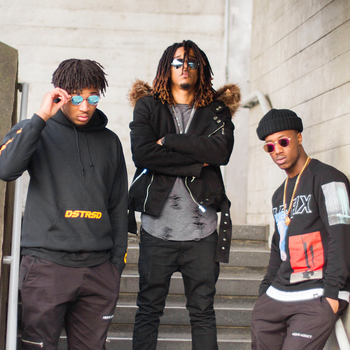 """Tizzy & Brandz Call On Malachi Amour As They Switch Up Their Sound For """"Not Regular"""""""